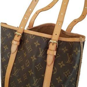 Louis Vuitton Bucket Gm Leather Shoulder Bag